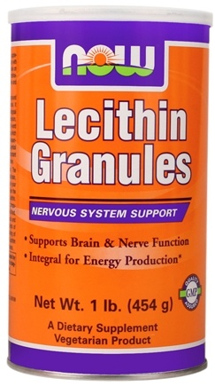 DROPPED: NOW Foods - Lecithin Granules - 1 lb.