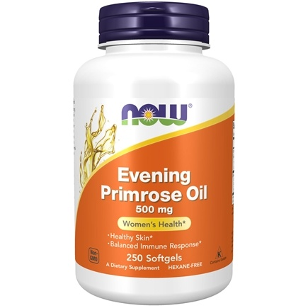 NOW Foods - Evening Primrose Oil 500 mg. - 250 Softgels