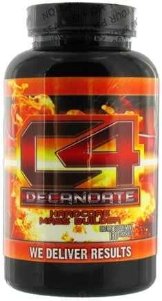 DROPPED: KiloSports - C-4 Decanoate Hardcore Mass Builder - 180 Capsules