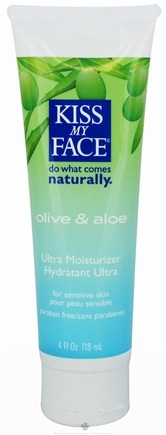DROPPED: Kiss My Face - Ultra Moisturizer Olive & Aloe - 4 oz.