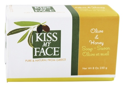 DROPPED: Kiss My Face - Bar Soap Olive & Honey - 8 oz.