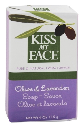 DROPPED: Kiss My Face - Bar Soap Olive & Lavender - 4 oz.