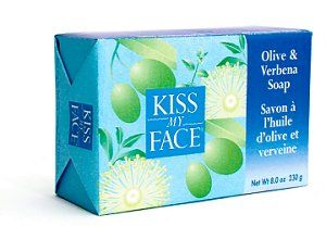 DROPPED: Kiss My Face - Bar Soap Olive & Verbena - 4 oz. CLEARANCE PRICED