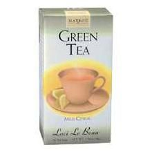 DROPPED: Laci Le Beau - Green Tea Mild Citrus Caffeine Free - 20 Tea Bags