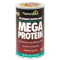 DROPPED: Naturade - Mega Protein Ultimate Protein Shake Natural Flavor - 16 oz.