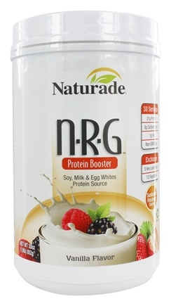 Naturade - NRG Protein Booster Natural Vanilla - 30 oz.