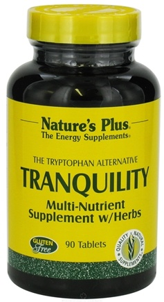 DROPPED: Nature's Plus - Tranquility Multi Nutrient Supplement - 90 Tablets