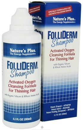 DROPPED: Nature's Plus - Folliderm Shampoo - 5 oz. CLEARANCE PRICED