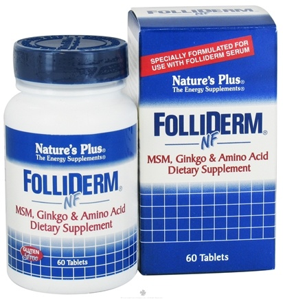 DROPPED: Nature's Plus - Folliderm-Nf Supplement - 60 Tablets CLEARANCED PRICED