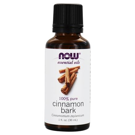 NOW Foods - Cinnamon Bark Oil - 1 oz.
