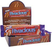 DROPPED: NOW Foods - Fivacious Bars Cinnamon Nut Flavor - 1.76 oz.
