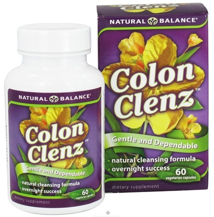 DROPPED: Natural Balance - Colon Clenz - 60 Capsules CLEARANCE PRICED