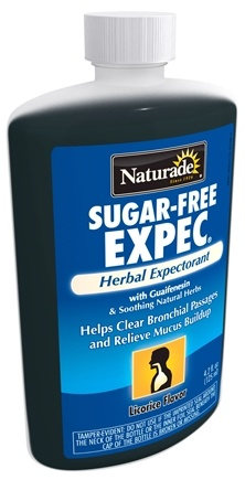 DROPPED: Naturade - Expec Herbal Expectorant Sugar Free Licorice Flavor - 4.2 oz. CLEARANCE PRICED