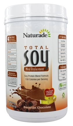 Naturade - Total Soy Meal Replacement Bavarian Chocolate - 37.1 oz.