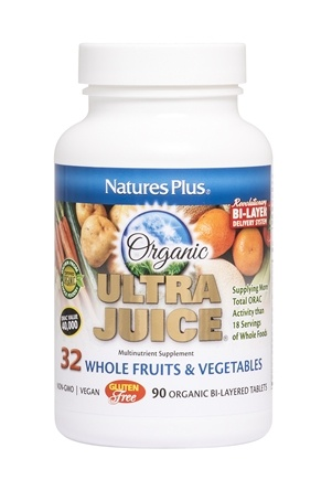 Nature's Plus - Ultra Juice - 90 Tablets
