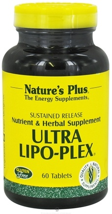 Nature's Plus - Ultra Lipo-Plex Sustained Release - 60 Tablets