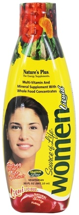 Nature's Plus - Source of Life Multi Vitamin & Mineral Women Berry - 30 oz.