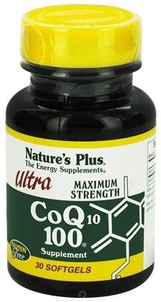 DROPPED: Nature's Plus - Ultra CoQ10 100 - 30 Softgels