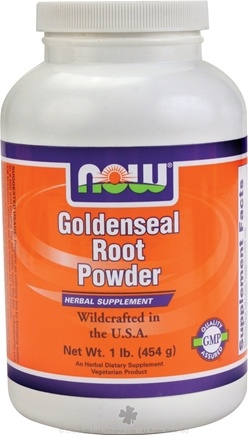 DROPPED: NOW Foods - Goldenseal Root Powder - 1 lb.
