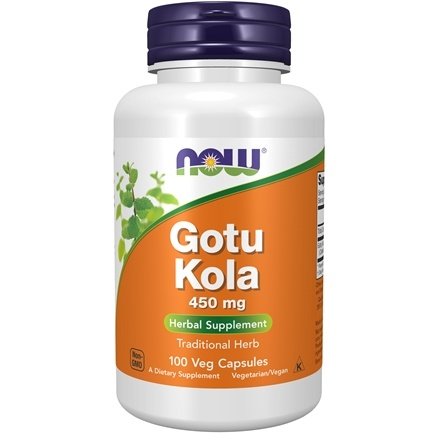 NOW Foods - Gotu Kola 450 mg. - 100 Capsules