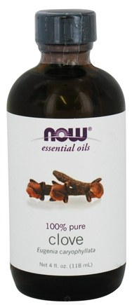 NOW Foods - Clove Oil 100% Pure - 4 oz.