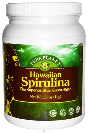 DROPPED: Pure Planet - 100% Hawaiian Spirulina Powder - 2.2 lbs.