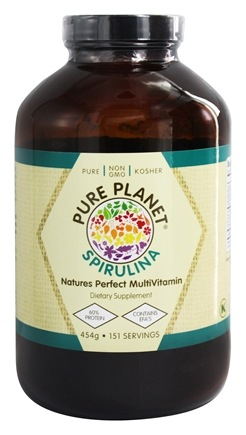 Pure Planet - Premium Spirulina - 16 oz.