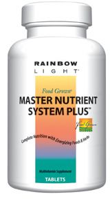 DROPPED: Rainbow Light - Master Nutrient System Plus - 180 Tablets