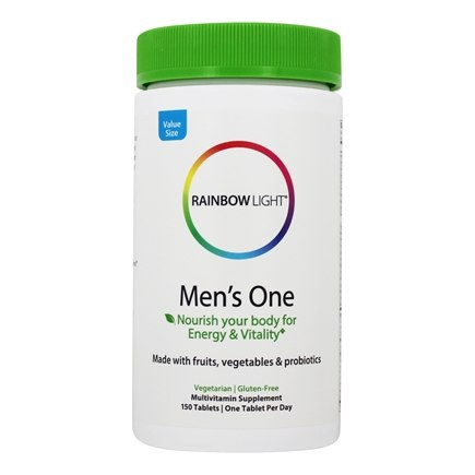 Rainbow Light - Men's One Energy Multivitamin - 150 Tablets