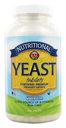 Kal - Nutritional Yeast - 500 Tablets