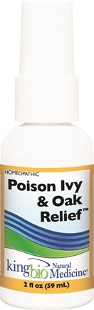 DROPPED: King Bio - Homeopathic Natural Medicine Poison Ivy & Oak Relief - 2 oz. CLEARANCE PRICED