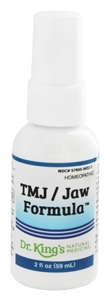King Bio - Homeopathic Natural Medicine TMJ/Jaw Formula - 2 oz.