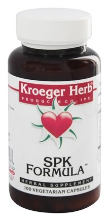 Kroeger Herbs - Herbal Combinations SPK Formula - 100 Capsules (Formerly Spiro Kete)