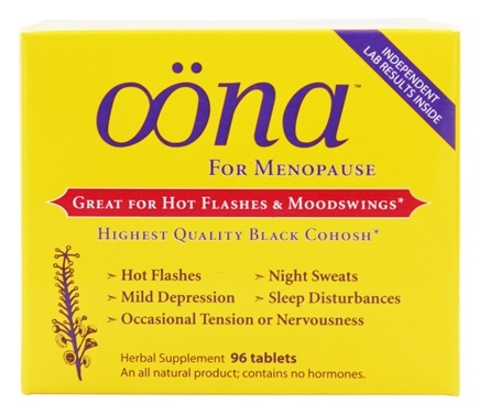 Oona - Herbal Supplement for Menopause - 96 Tablets