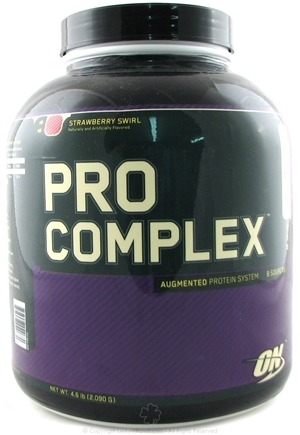 DROPPED: Optimum Nutrition - Pro Complex Augmented Protein System Strawberry Swirl - 4.6 lbs.