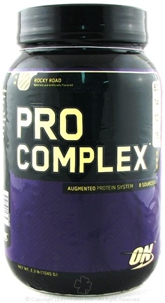 DROPPED: Optimum Nutrition - Pro Complex Augmented Protein System Rocky Road - 2.3 lbs. CLEARANCE PRICED