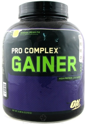 DROPPED: Optimum Nutrition - Pro Complex Gainer Banana Cream Pie - 5.08 lbs. CLEARANCE PRICED