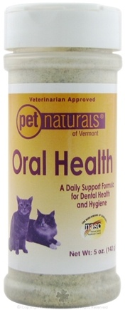 DROPPED: Pet Naturals of Vermont - Oral Health for Cats - 5 oz.