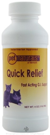 DROPPED: Pet Naturals of Vermont - Quick Relief Digestive Aid for Cats - 4 oz. CLEARANCE PRICED