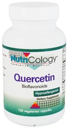 DROPPED: Nutricology - Quercetin Bioflavonoids - 100 Capsules