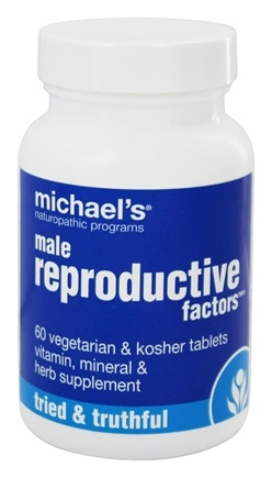Michael's Naturopathic Programs - Male Reproductive Factors - 60 Vegetarian Tablets