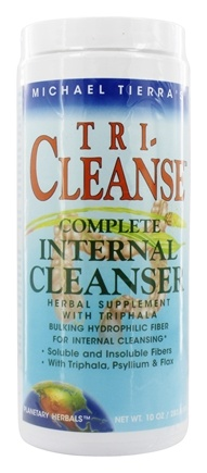 Planetary Herbals - Tri-Cleanse Complete Internal Cleanser - 10 oz. Formerly Planetary Formulas