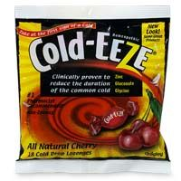 DROPPED: Cold-Eeze - Lozenges Sugar Free Wild Cherry - 18 Lozenges Formerly by Quigley CLEARANCE PRICED