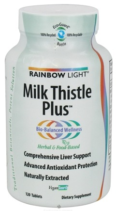 DROPPED: Rainbow Light - Milk Thistle Plus - 120 Tablets