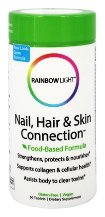 Rainbow Light - Nail, Hair & Skin Connection - 60 Tablets