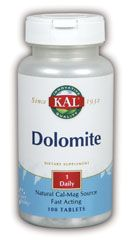 DROPPED: Kal - Dolomite - 100 Tablets