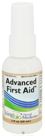 DROPPED: King Bio - Homeopathic Natural Medicine Advanced First Aid - 2 oz. CLEARANCE PRICED