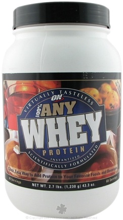 DROPPED: Optimum Nutrition - 100% Any Whey Protein - 2.71 lbs.