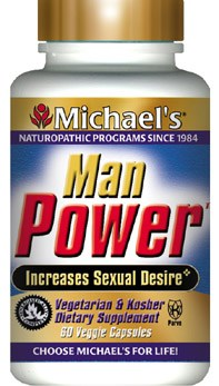 DROPPED: Michael's Naturopathic Programs - Manpower - 60 Vegetarian Capsules