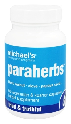 DROPPED: Michael's Naturopathic Programs - Paraherbs - 60 Vegetarian Capsules